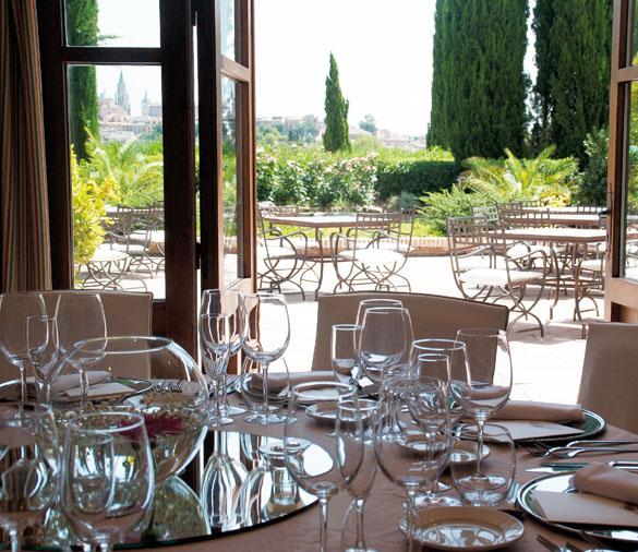 Restaurante Cigarral de Caravantes en Toledo
