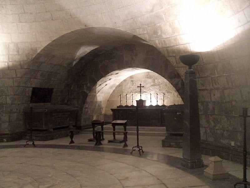 Cripta del Hospital de Tavera Toledo