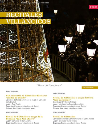 Recitales de Villancicos en Toledo
