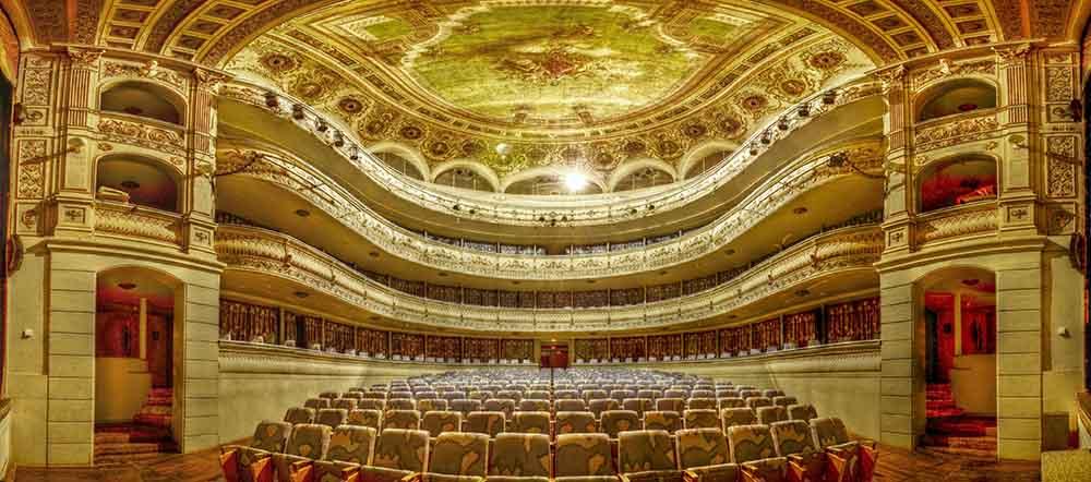 Patio de butacas del Teatro de Rojas de Toledo