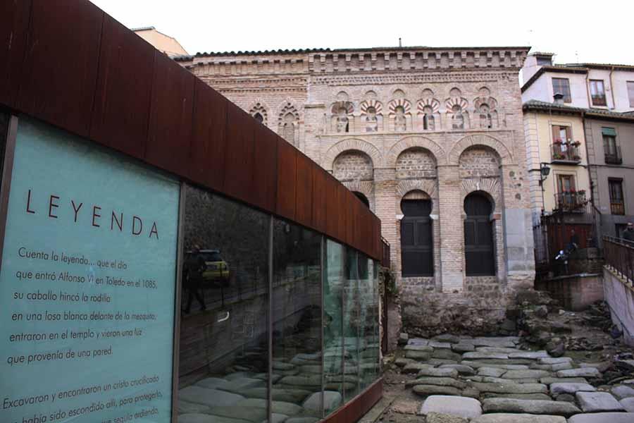 Calzada romana y centro de interpretación de la Mezquita del Cristo de la Luz