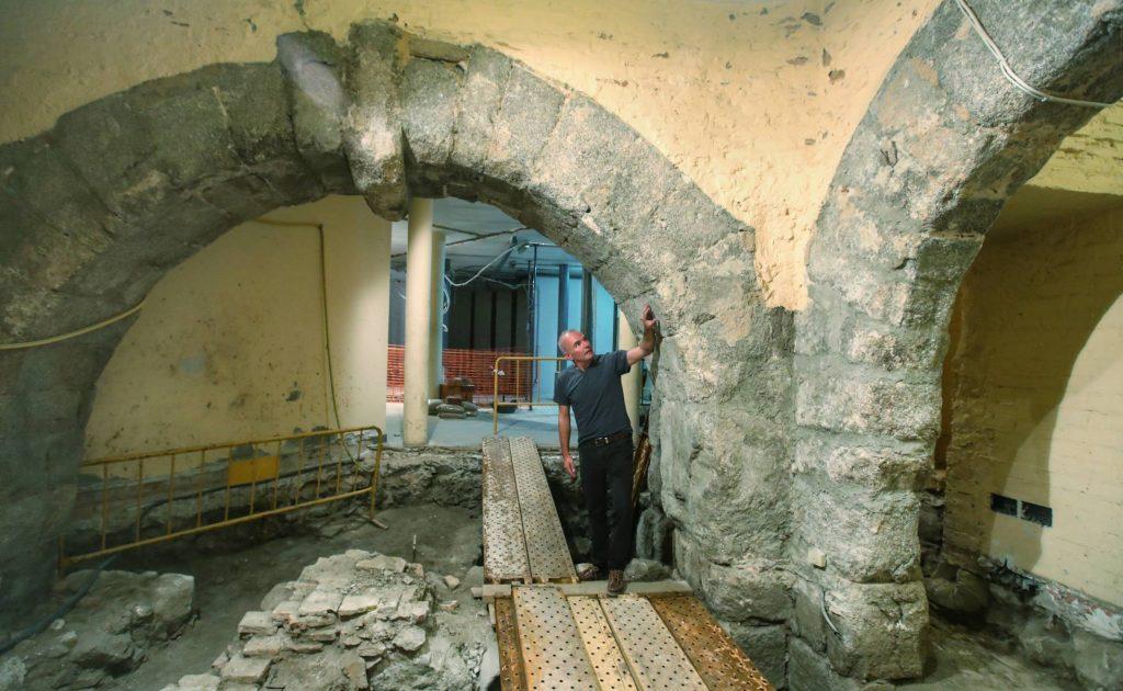 Hallazgos arqueológicos en la Mezquita de Tornerías en Toledo