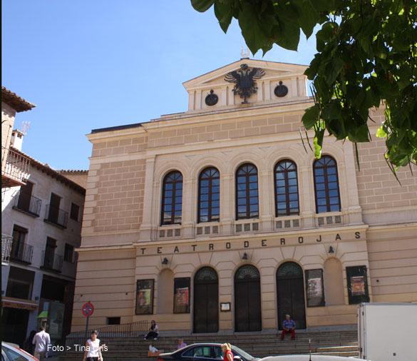 Fachada del Teatro de Rojas de Toledo